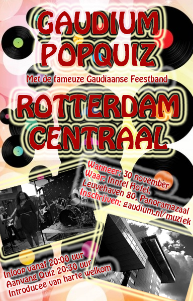Uitnodiging Popquiz 30 november